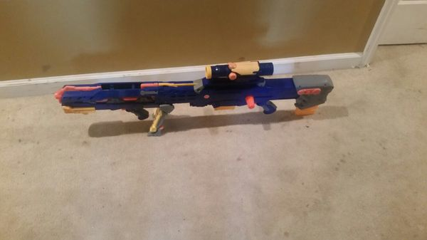 Nerf Ripsaw Three Ball Blaster - Vintage Kenner 1994! RARE!
