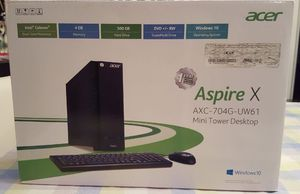 Acer Mini Tower Desktop