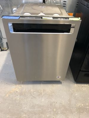 "24"" new kitchen aid dishwasher stainless steel with 1 year warranty"