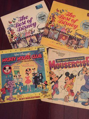 Disney sample pack vinyl records