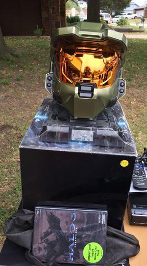 Used, Halo legendary edition. master chief helmet for sale  Tulsa, OK