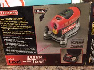 Craftsman Level w/Laser Trac
