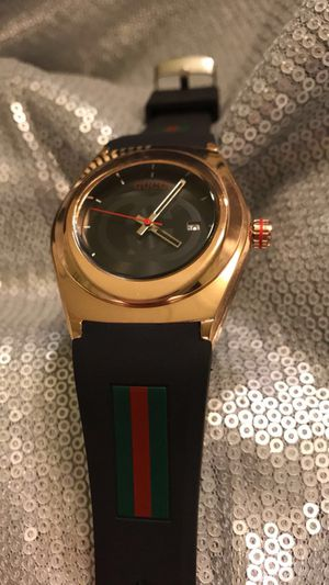 Rose Gold Gucci Watch