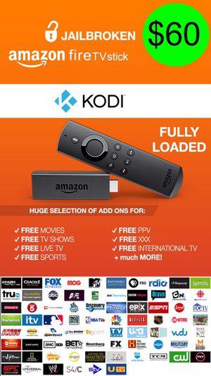 JAILBROKEN Amazon Fire Stick❗️🖥 || FULLY LOADED w/ Kodi v17.4 & Mobdro || 📞 24/7 Technical Support || PLATINUM EDITION‼️