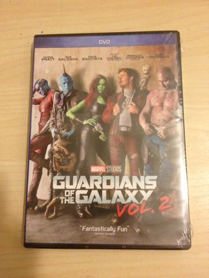NEW GUARDIANS OF THE GALAXY DVD