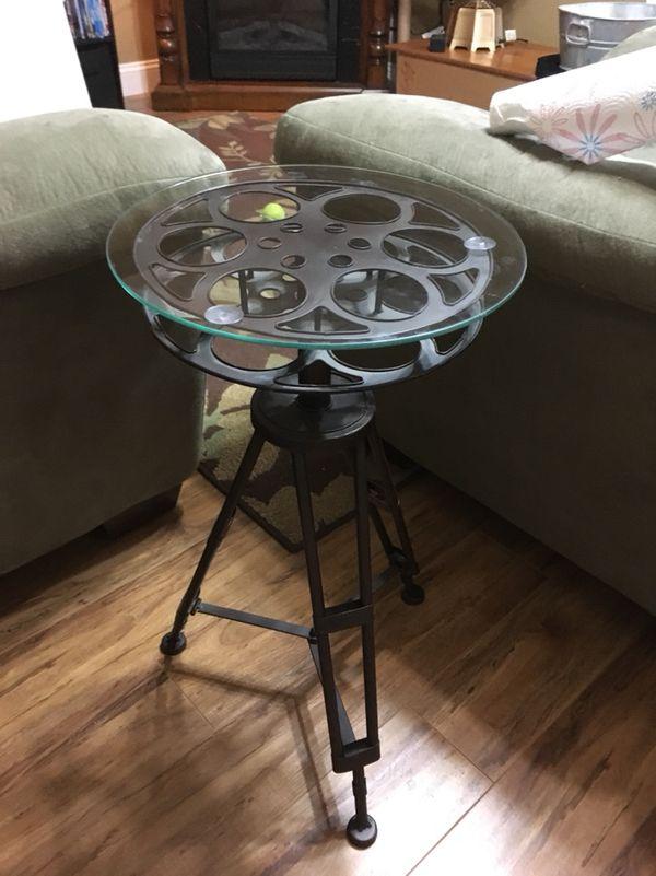 Movie Reel End Table Furniture In Brandon FL