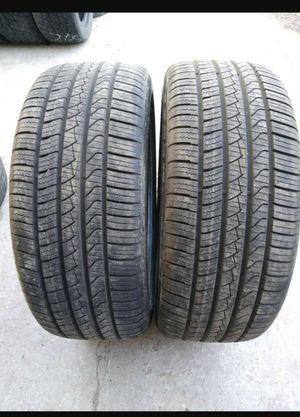 Two 245/40/20 pirelli