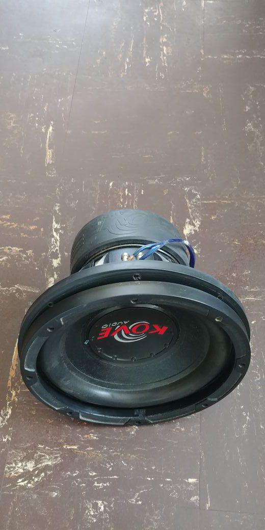 """KOVE Audio 12"""" 1500 watts"""