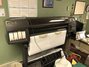 HP Designjet 1050C large format plotter
