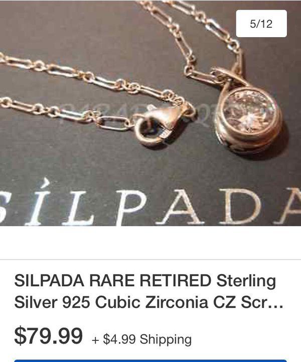 Silpada pendant chain jewelry accessories in tacoma wa offerup silpada pendant chain aloadofball Images