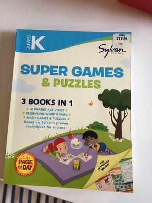 Grade K Sylvan Activity Workbook