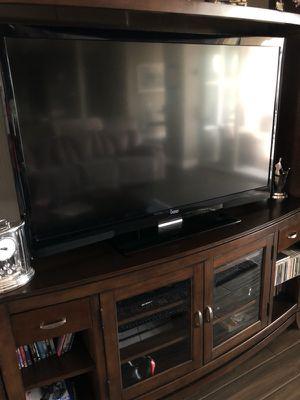 "Vizio 55"" 3D TV w/extras"