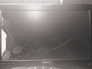 32 inch smart tv cracked screen