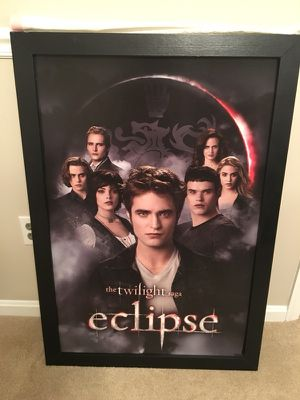 Twilight framed poster