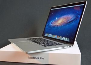 Apple MacBook Pro 15inch Retina 2.5GHZ Intel Core i7 500GB Flash Storage Memory 16GB 1600 MHz DDR3 MacOS Sierra 10.12.1 (Mid 2014)