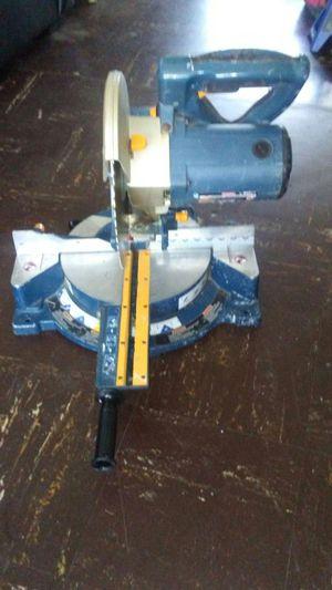 """RYOBI miter saw 10"""" blade laser adjusting"""