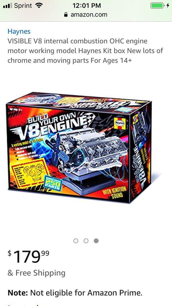 haynes v8 engine model kit