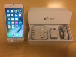 Apple iPhone 6 16/64/128gb - Factory Unlocked - Comes w/ Box + Accessories & 1 Month Warranty