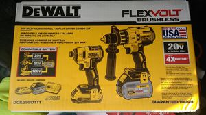 Brand new DeWalt flex volt 3speed impact/ drill/hammer drill set
