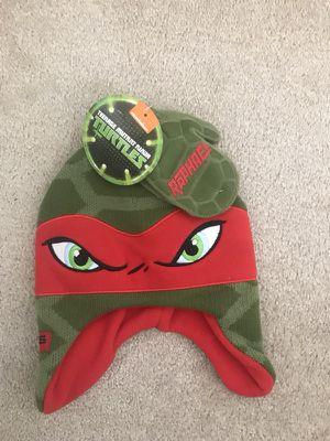 Kids Teenage Mutant Ninja Turtles boys Hat & Gloves set. One Size