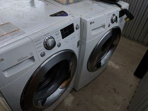 LG Compact Washer and Dryer pair