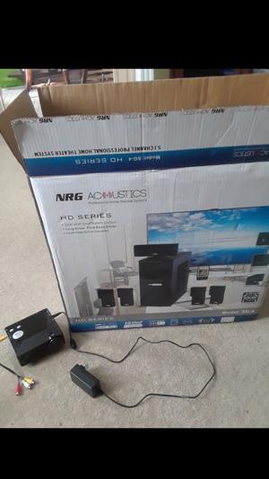 Surround sound and mini projector