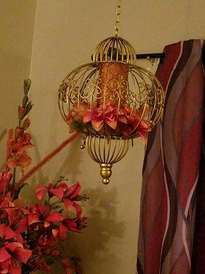 Decorative Hanging Iron Cage Decor $45/each