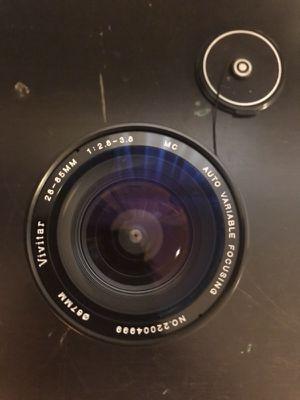 OLYMPUS VIVITAR LENSE 28-55mm