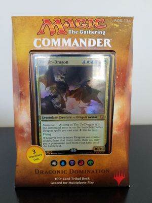 Draconic Domination 2017 Commander Deck MTG. Magic the Gathering