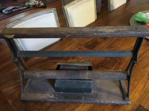 Antique paper cutter - industrial