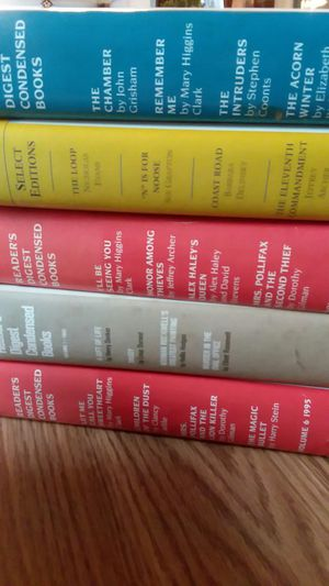 Hard back readers digest select edtion
