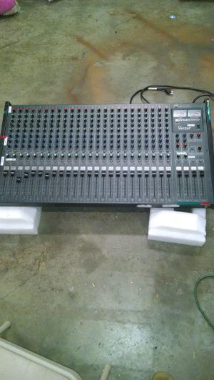 It's a 24 track vector sound board