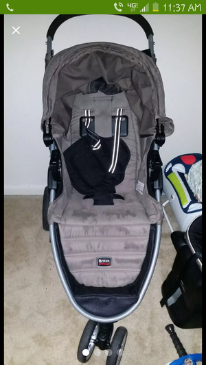 Britax car seat stroller with base