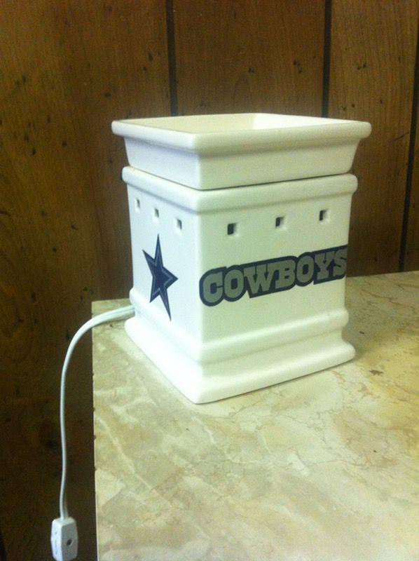 Used Scentsy Warmer Dallas Cowboy Household In Longview