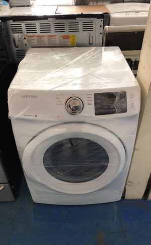 Brand new open box Samsung stackable washer great works with 1 year warranty