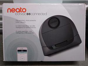 Neato botvac D3 connected robot vacuum