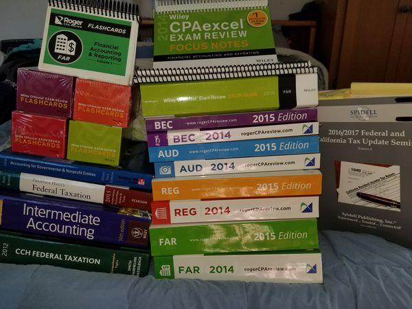 best examine ebooks regarding cpa exam