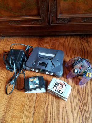 N64 bundle with Goldeneye and others