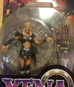 "Xena Warrior Princes- Callisto Spinning Attack -Action 6"" Figured -Still Sealed -Excellent condition.k"