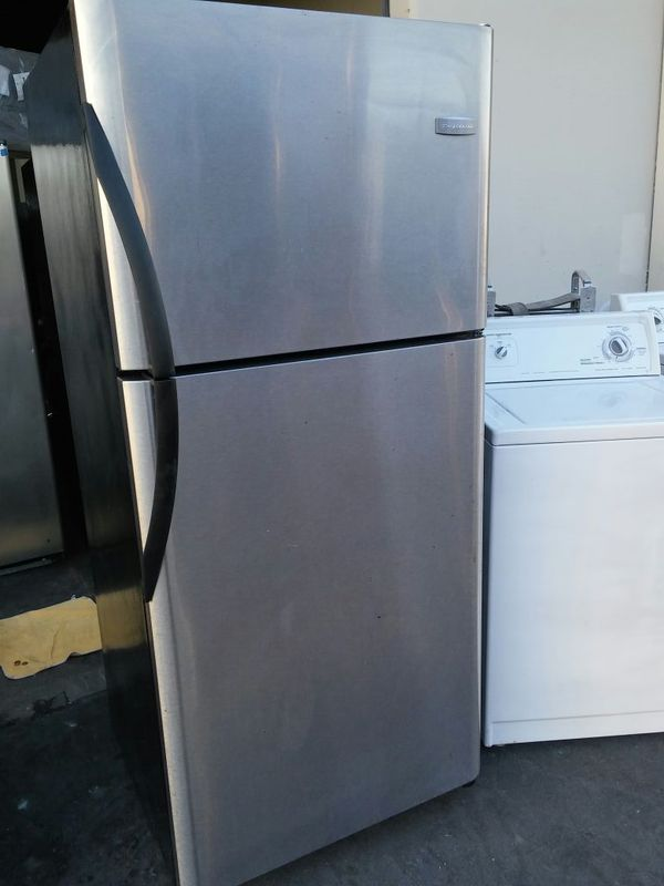 APARTMENT SIZE STAINLESS STEEL REFRIGERATOR (Appliances) in Long ...