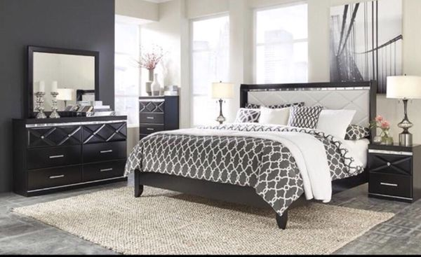 Ashley Crystal Bedroom Furniture In Queens NY OfferUp - Bedroom furniture queens ny