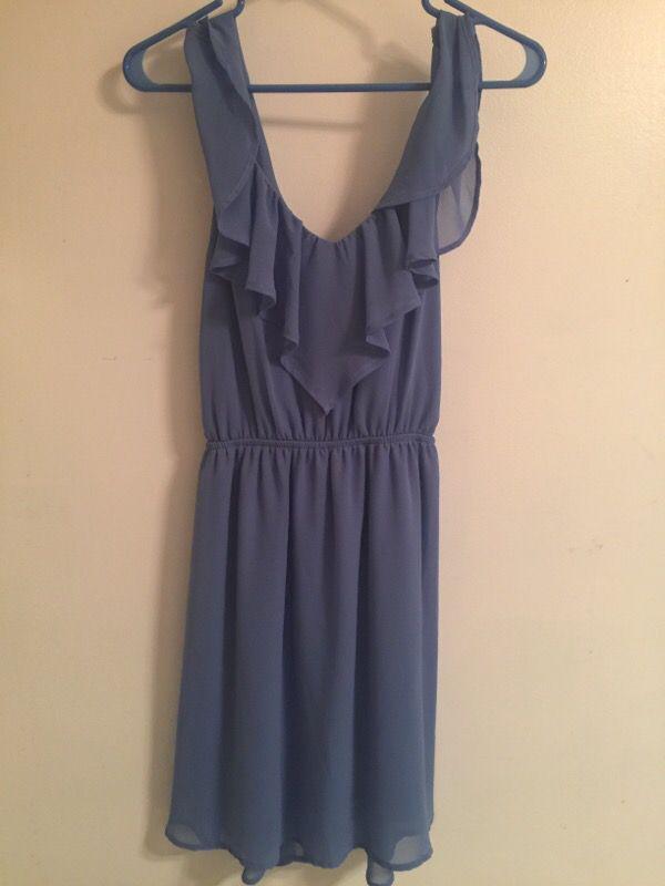 Francesca\'s women\'s size M periwinkle summer dress (Clothing & Shoes ...
