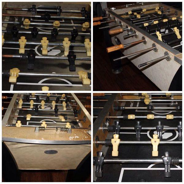 Sportcraft Foosball Table Model # TT-1000 56'' (Games