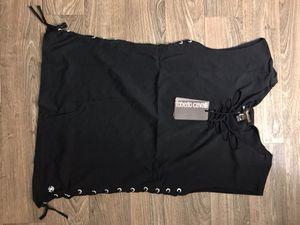 Brand new Roberto Cavalli sleeveless shirt women