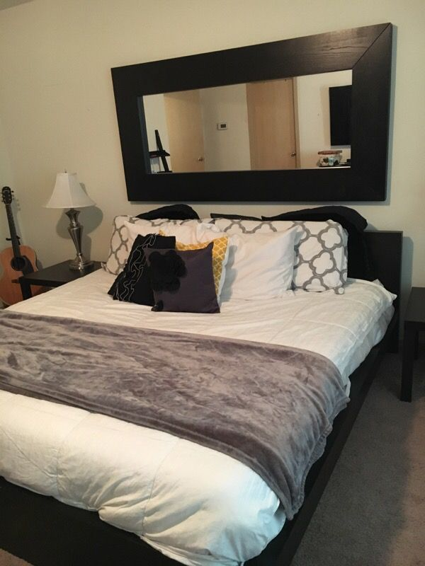 king size bed set ikea furniture in mill creek wa offerup