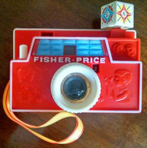 Fisher-Price 1968 Changeable Multi Picture Disc Camera Boys & Girls Ages 2+
