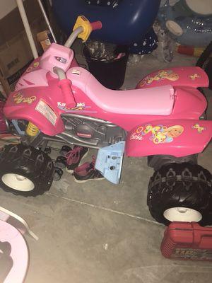 Barbie 4 wheeler