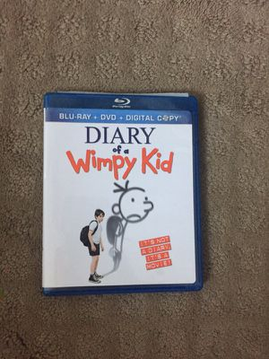 Diary of wimpy kid DVDS movies