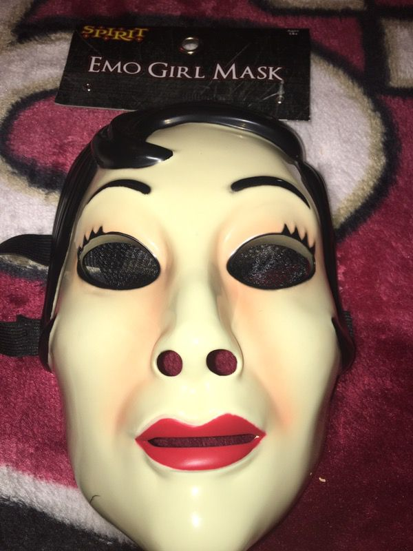 10$ Emo girl mask from the purge movie #limitededition ...