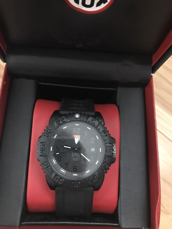 Luminox Watch with Jordanian Flag